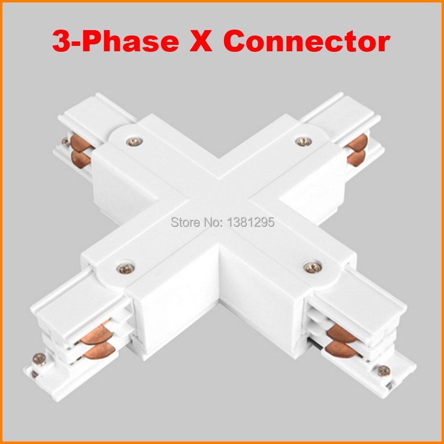 online shop 3 phase circuit 4 wire square led track light rail xonline shop 3 phase [ 900 x 900 Pixel ]