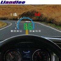 Liandlee HUD For Nissan Dualis Qashqai Elgrand Homy Fuga Juke Kicks Speedometer OBD2 Head Up Display Big Monitor Racing HUD