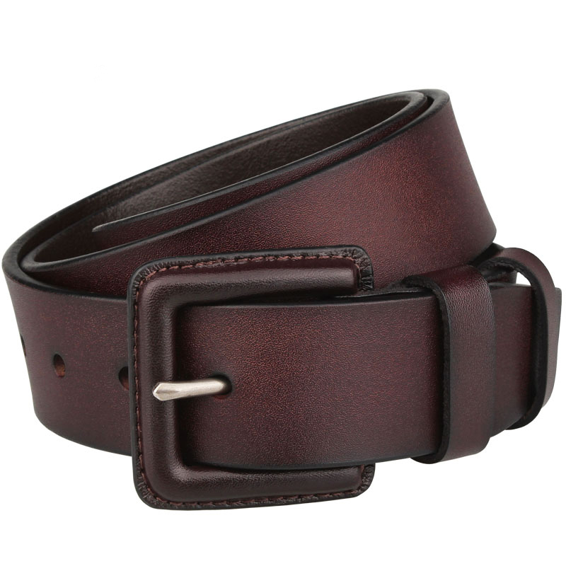 3.8cm wide Designer Belts Men High Quality Genuine Leather Military waist Belt without metal 130CM 140 150 160cm