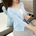 Nova Primavera Verão Mulheres Oversize Cardigan Sweater Poncho 2017 Coreano Moda Soltos Cardigans De Malha Senhoras Outwear Puxar Femme