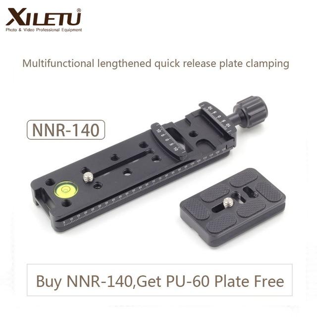 XILETU NNR 140 מצלמה סוגר התארך מהיר שחרור צלחת הידוק עבור פנורמי ומאקרו ירי Arca שוויצרי