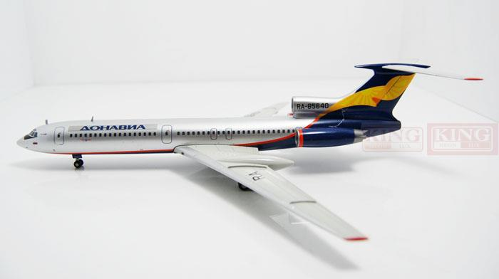 Wings XX2735 Donavia Special: TU-154M JC RA-85640 1:200 commercial jetliners plane model hobby special offer wings xx4232 jc korean air hl7630 1 400 b747 8i commercial jetliners plane model hobby