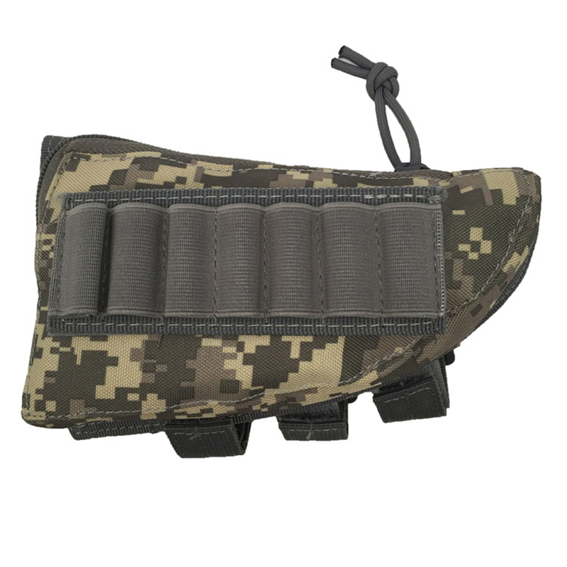 5 Colors Military Airsoft Paintball War Game CS Rifle Ammunition storage bag Portable Pouch for Hunting sports