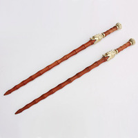 86cm double wips double maces pear wood wushu weapon kung fu
