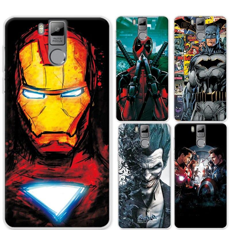 Zachte Tpu Case Cover Voor Oukitel K6000 Pro 5.5 charmant Marvel Avengers Iron Man Perfecte Funda Voor Oukitel K6000 Pro Telefoon Gevallen Om Een Hoge Bewondering Te Winnen En Is Op Grote Schaal Vertrouwd Thuis En In Het Buitenland. Telefoontassen En -hoezen