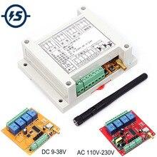 Cc 9 38 V/ca 110 V 230 V Wifi relais commutateur multi canaux téléphone Mobile télécommande réseau Module antenne sans fil Smart Home