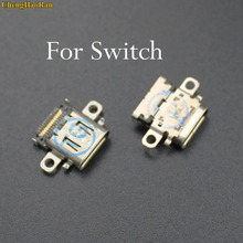 ChengHaoRan 1x Brand New For Nintendo Switch NS Console USB Jack Charging Socket Port Power Connector Type-C Socket Repair parts