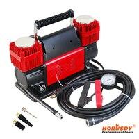 HORUSDY Twin Cylinder Car Air Compressor 12v 4x4 Tyre Deflator 4wd Inflator Portable 300L/min