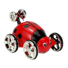Create Toys 2152B 27MHz 2CH Mini RC Rolling Rotating Wheel Stunt Car