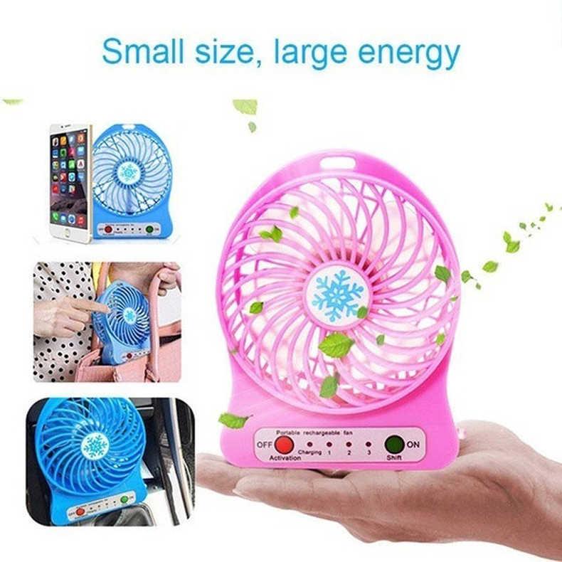 Min Fan Tragbare Klimaanlage Luftkühler Tisch Kleine Handheld Fan Schreibtisch Elektrische Hand Usb Tisch Zimmer verpackung ohne batterie