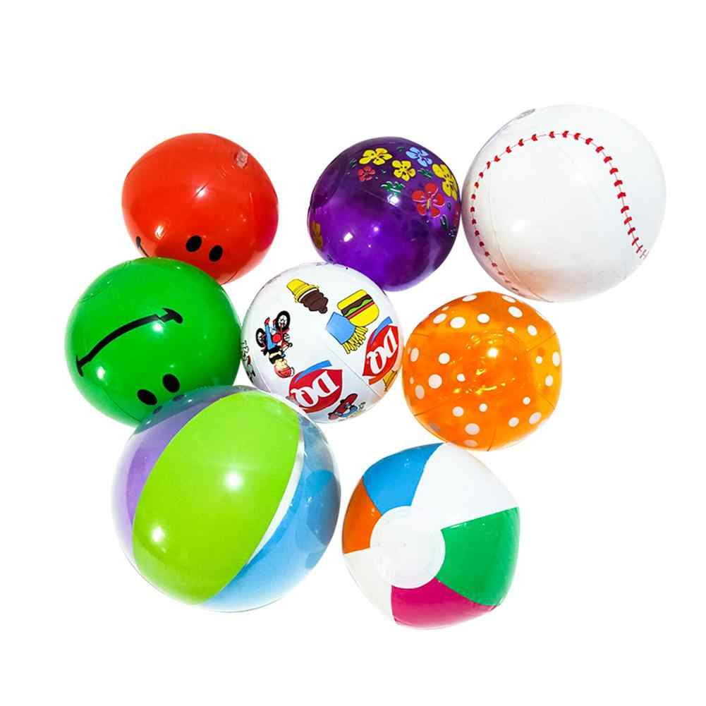 10 шт. надувной шар с высоким отскакиванием воды игрушки красочный шар для Открытый Пляж Бассейн вечерние для детей