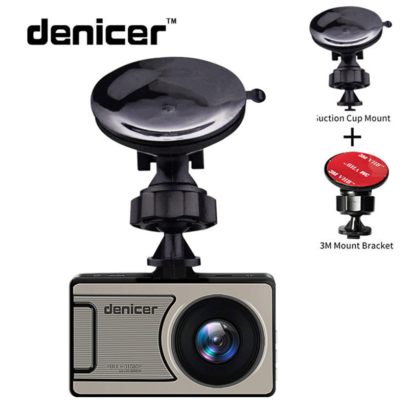 Denicer Full HD 1080P Dash Camera 3.0 Inch Screen With Loop recording/Car Video Recorder DVR with G-sensor/Motion Detection Cam plusobd car recorder rearview mirror camera hd dvr for bmw x1 e90 e91 e87 e84 car black box 1080p with g sensor loop recording