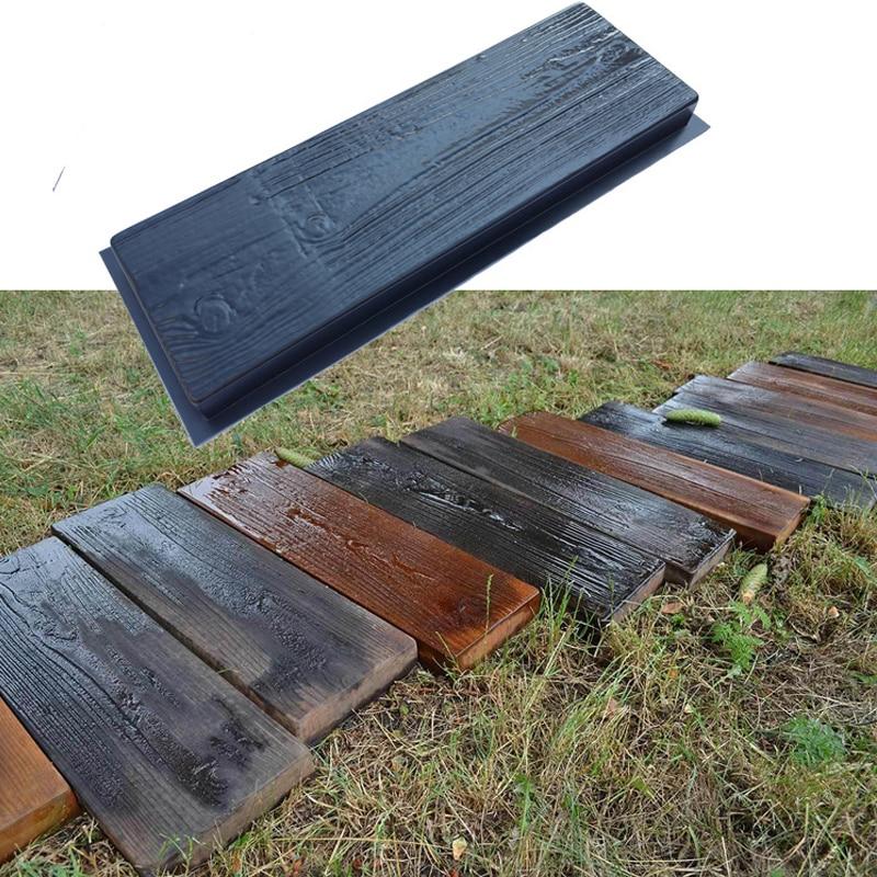2 шт. ABS форма для производства брусчатки декоративный пол текстура путь Pathmate подъездных дорожек тротуар кирпич строения для сада форма для ...