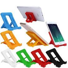Foldable Cradle Universal Phone Holder Grip Bracket For Tablet Phone Stand Multi-angle Desktop Holder for iPhone 7 for Samsung