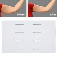 Parche adelgazante de elevación de brazo instantáneo, transpirable, antisudor, producto para adelgazar