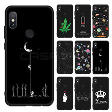 CASPTM Case For Xiaomi Redmi Note 7 5 6 Pro 6A 4X Cute Pattern Painted Soft TPU Back Cover For Xiaomi Mi 8 Lite A2 Mix 3 Coque(China)