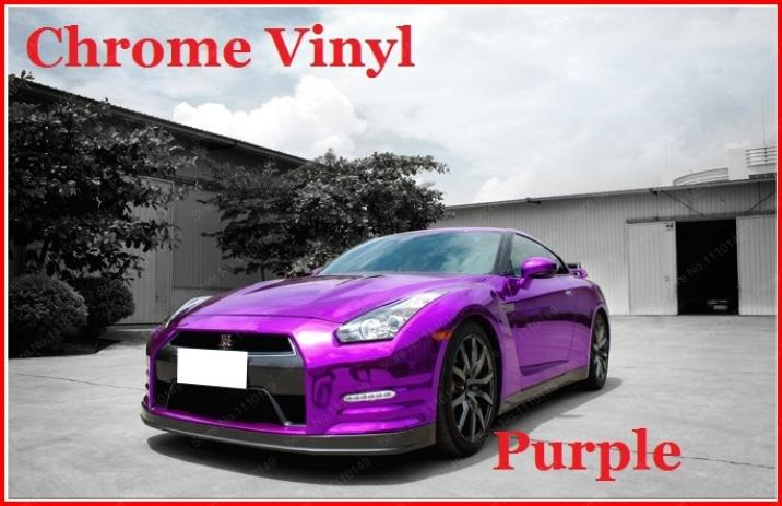 Image 3 - Carcardo Chrome Vinyl Film Chrome Car Wrap Chrome Car Vinyl Warp Car Sticker With Bubble Free Auto Sticker Car Accessories-in Car Stickers from Automobiles & Motorcycles