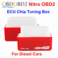 Nitro OBD2 Red For Diesel Cars Your Own Drive! Plug&Drive OBD2 Performance Chip Tuning Box More Power More Torque Free Shipping