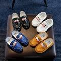 2016 crianças novas do bebê shoes gommino mocassins oxford flat shoes sapatilhas da forma do bebê da menina do menino shoes
