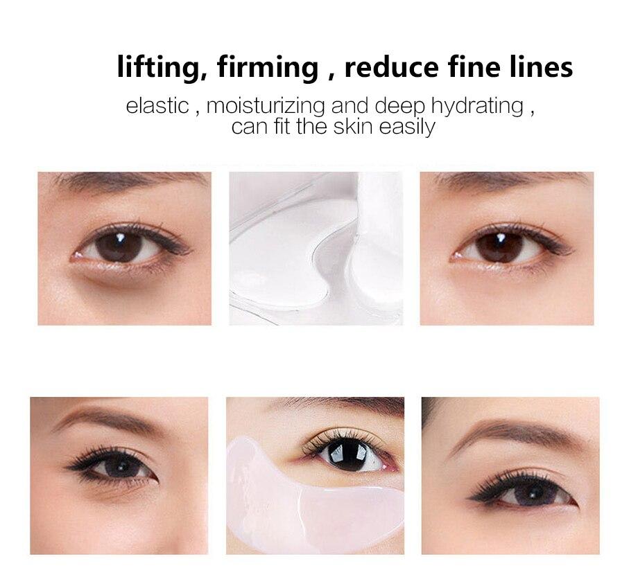 15pcsCollagen Crystal Eye Mask reduce la máscara ocular de colágeno - Cuidado de la piel - foto 6
