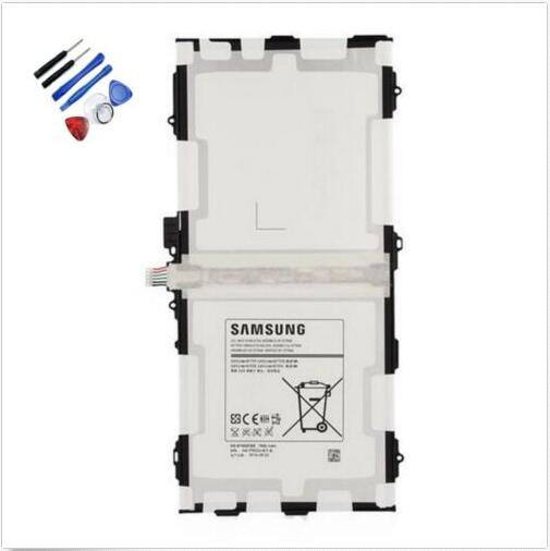 imágenes para EB-BT800FBU EB-BT800FBC Batería original Para SAMSUNG GALAXY Tab 10.5 S T800 T801 T805 7900 mAh + Herramientas