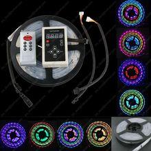5 м DC12V 6803 IC 5050 цветной цифровой мечта RGB полосы 150 светод. 30LED / M IP67 трубка водонепроницаемый волшебный из светодиодов ленты + 6803 контроллер