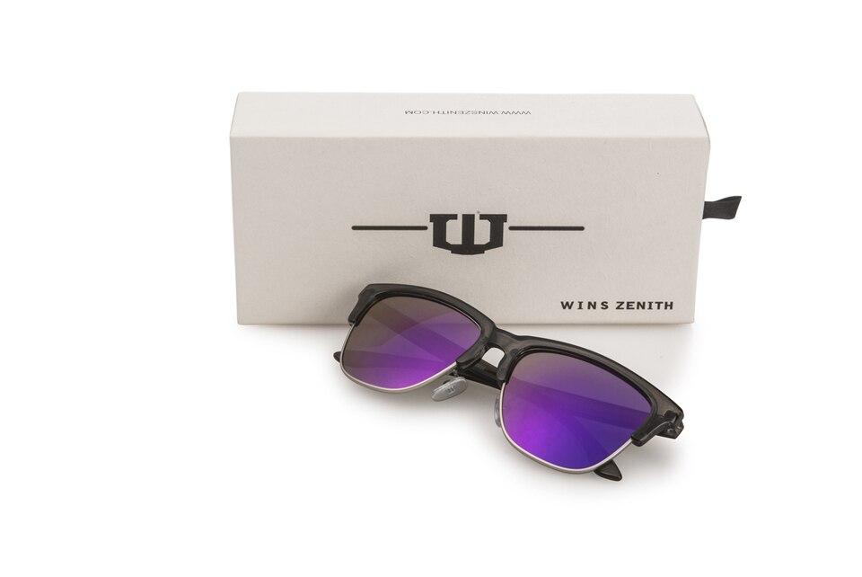 Winszenith 249 Nuovi occhiali da sole retro occhiali da sole di colore Europeo di colore di tendenza occhiali da sole di film 12 pezzo