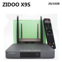 ZIDOO X9S Smart Android Tv Box Realtek RTD1295 Iptv Quad Core 2G 16G HDMI OUT IN