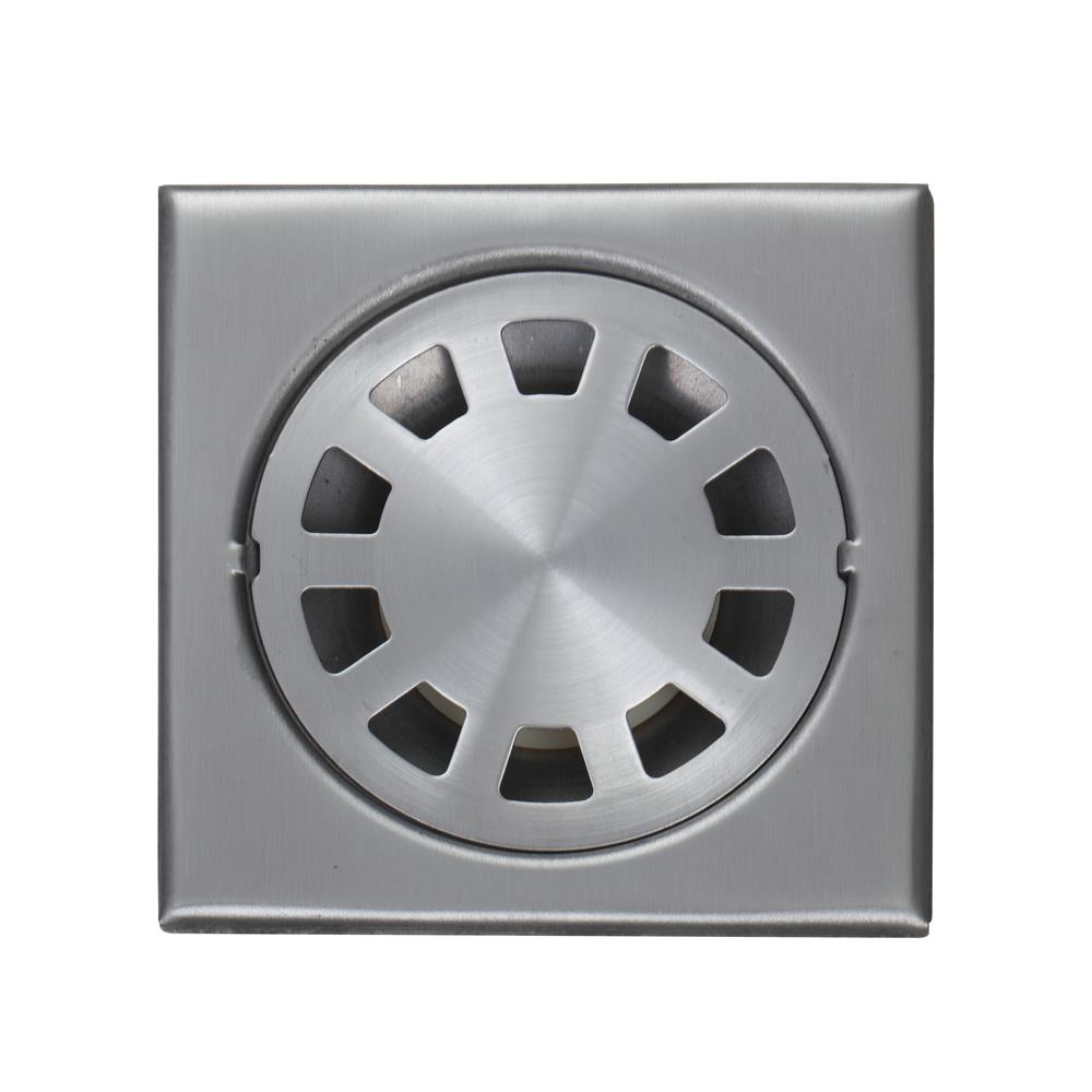 e pak 5660 Nickel Brushed 4 inch 304 Stainless Steel Shower Square Bathroom  Floor Drain. Popular Floor Drain Cover Buy Cheap Floor Drain Cover lots from