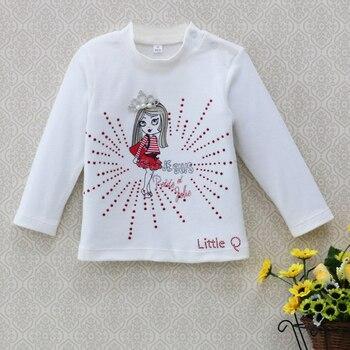 2018 Baby clothes girls kidswear Blouse children t shirt spring newborn Jumper tops infant pure cotton soft long sleeve shirts