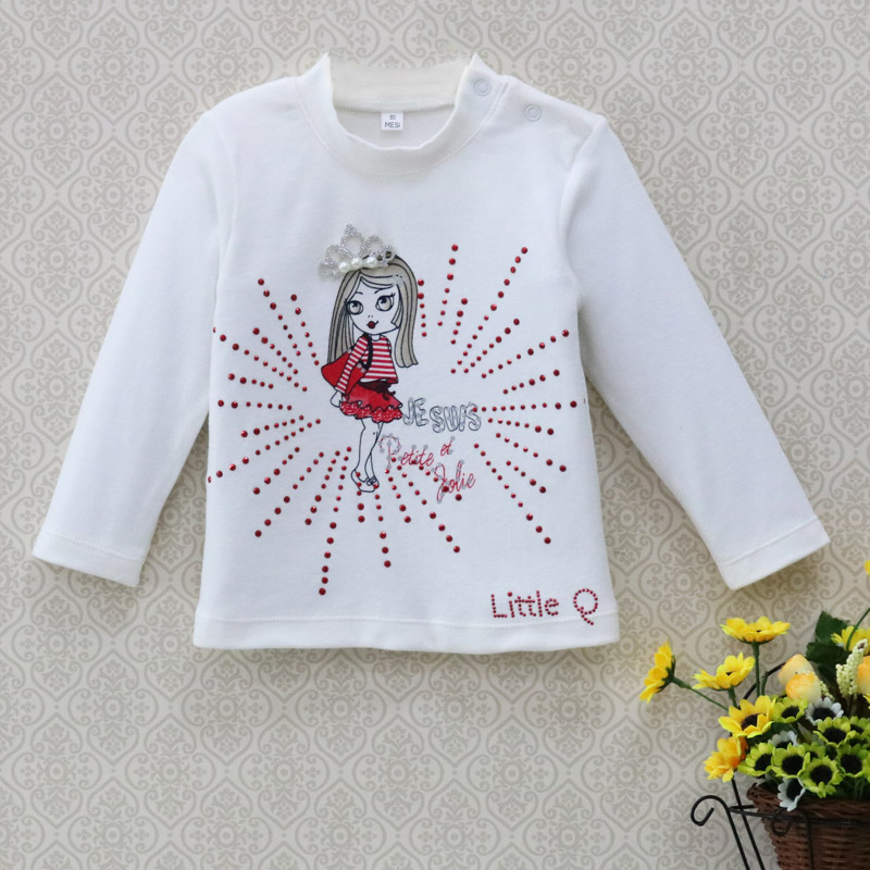 78627ad4a 2019 Baby clothes girls kidswear Blouse children t shirt spring ...