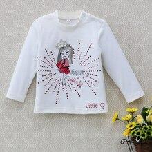 Baby Jumper-Tops Girls Blouse T-Shirt Long-Sleeve-Shirts Newborn Infant Pure-Cotton Spring