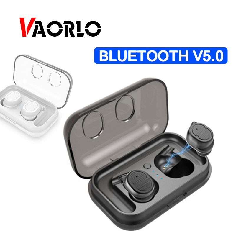 Mini Bluetooth Kopfhörer 5,0 TWS Touch Control Stereo Musik HeadsetsTrue Wireless Ohrhörer Sport Bluetoooth Kopfhörer Für iphone