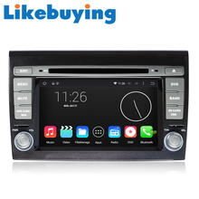 Likebuying Car 2 Din Android 4.4.4  1024*600 16G  QUAD CORE DVD GPS Radio Stereo Navigator for  Fiat Bravo  2007-2012