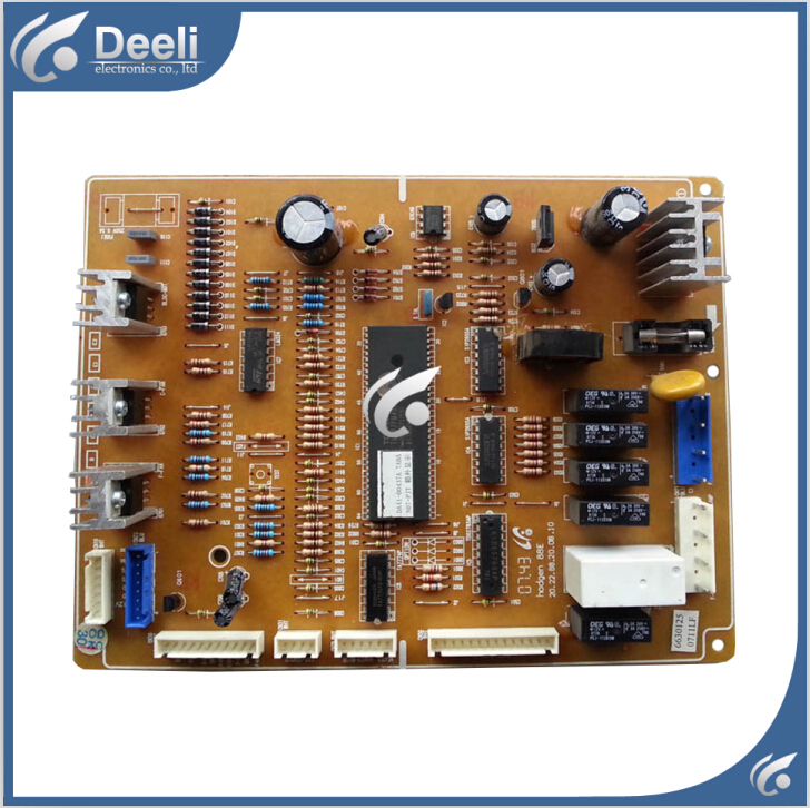 95% new Original good working refrigerator pc board motherboard for samsung DA41-00437A RS19BRPS DA41-00437 DA41-00437G ON SALEV haibangrui brand genuine in ear earphone with mic