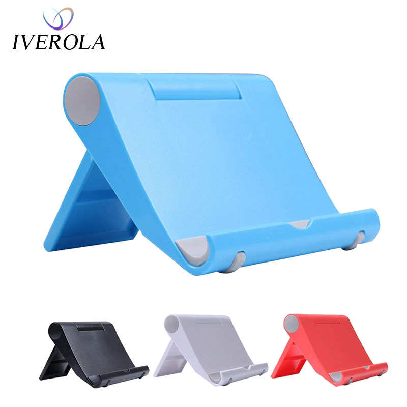 Adjustable Cell Phone Stand Portable Stand Desktop Holder Mobile Tablet Stand Holder For IPhone X Xiaomi Desk Mount Cardle