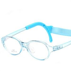 Image 4 - משקפיים לילדים ילד ילדה משקפיים אופטי משקפיים Eyewear מסגרת ילדי מרשם משקפיים מסגרת סיליקון האף טיפול 807