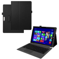 Premium PU Leather Smart Cover For Microsoft Surface Pro 4 Case Keyboard Protective Skin For Surface