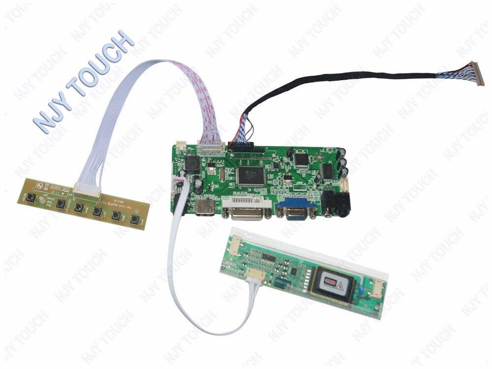 """VGA, HDMI, dvi ЖК-дисплей плате контроллера комплект работать для 12.3 """"1280X480 lq123k1lg03 ЖК-дисплей Экран"""