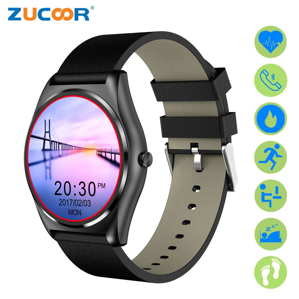ZUCOOR Smart Watch With Pulse Monitor Smartwatch Heart Rate Fitness Watches Wearable Devices Pedometer Mujer Reloj For Android