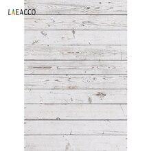 Laeacco 나무 보드 판자 질감 초상화 사진 배경 사진 스튜디오에 대한 사용자 정의 사진 배경 소품