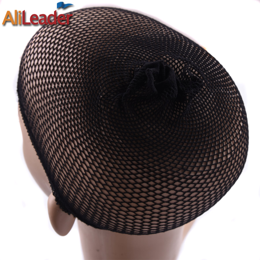 Clearance Quality Mesh Dome Weaving Cap Cheap Wig Net Stretch For Wig Making Stocking Cap Mesh Cap For Sew In Free Size