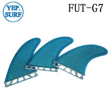 Surf Fins Future G7 Fin Honeycomb Surfboard Blue color surfing fin Quilhas thruster surf accessories