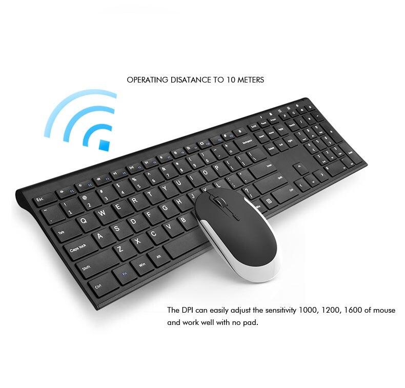 B.O.W Ultra thin Metal wireless Slim keyboard B.O.W Ultra thin Metal wireless Slim keyboard HTB1YqMeSXXXXXXaXXXXq6xXFXXX2