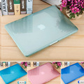 New Hard Crystal/Matte Frosted Full Protective Laptop Sleeve Cover For Macbook Air 11 13 Pro 13 15 Pro Retina 12 Laptop Case