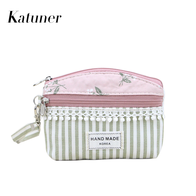 Katuner Dandelion Fresh Girls Coin Purse Kids Children Wallet Women Clutch Coin Bag For Key Card Ladies Purses And Wallets KB071 katuner new cute cartoon fruit ice sucker kids coin purse for girls wallet children women card holder porte monnaie kb032