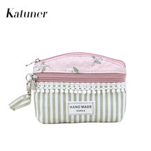 Katuner Dandelion Fresh Girls Coin Purse Kids Children Wallet Women Clutch Coin Bag For Key Card Ladies Purses And Wallets KB071(China)