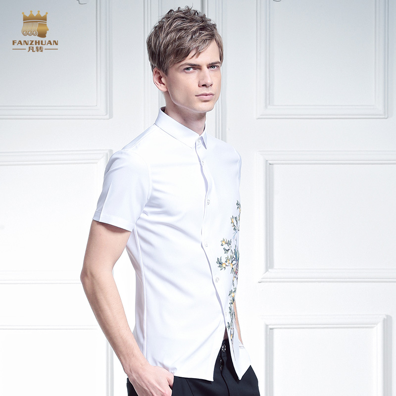 Fanzhuan Transporti falas Mashkull i ri Verë e modës rastësore, - Veshje për meshkuj - Foto 3