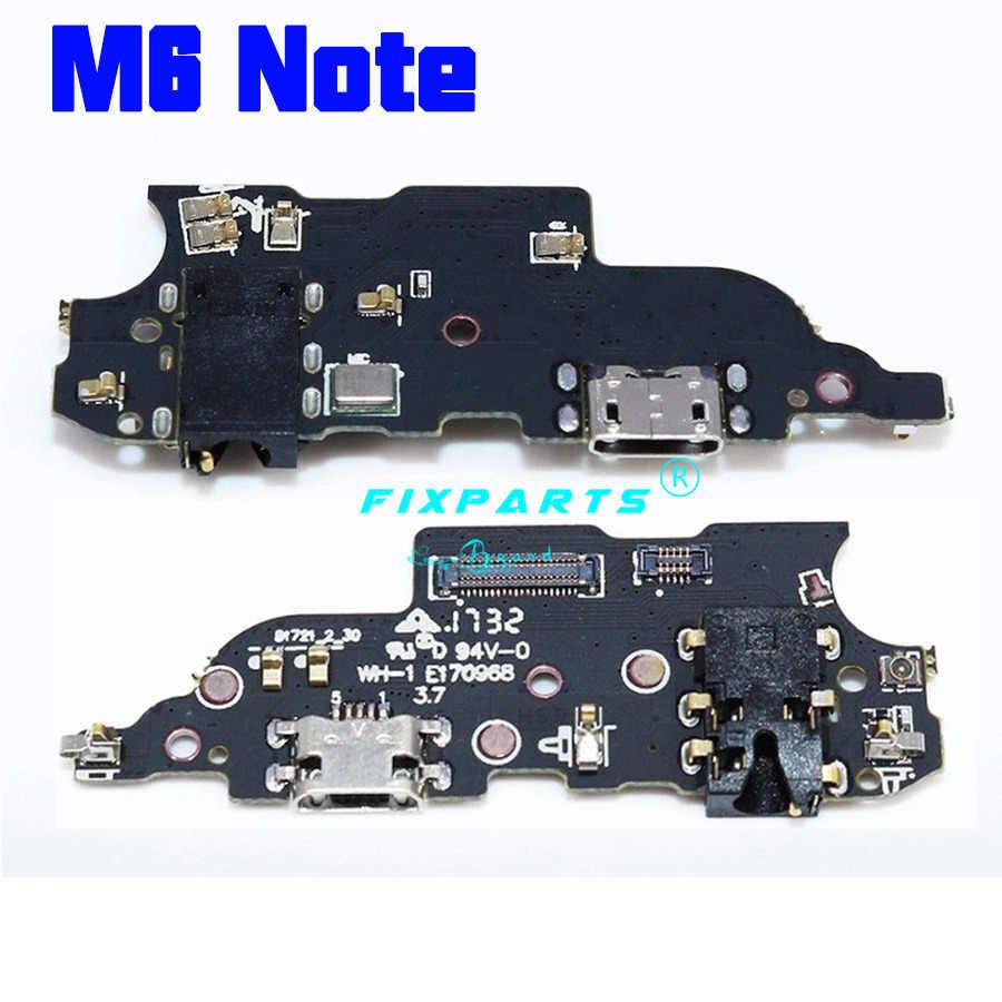 魅 M1 M2 M3 M5 M6 注 U10 M3S ドックポート USB ドックの充電器のコネクタプラグボードフレックスケーブル交換修理部品