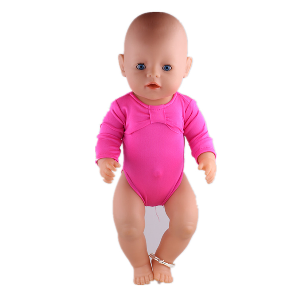 Handmade Doll long-sleeved coveralls Fit 18 Inch American Girl Doll &43cm New Born Baby zaps Clothes недорго, оригинальная цена
